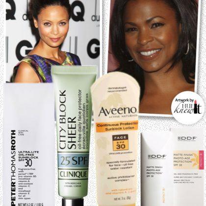 Saving Face with Sunscreen