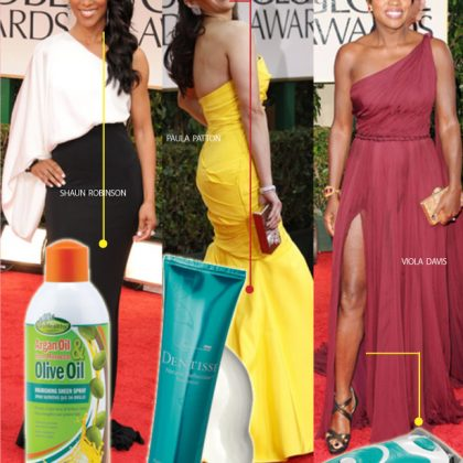 3 Best Golden Globes 2012 Beauty Looks