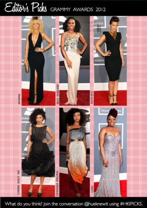 6 Fave Grammy Awards 2012 Beauty Looks