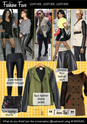 The Leather Fashion Trend Adds Edge to Any Outfit