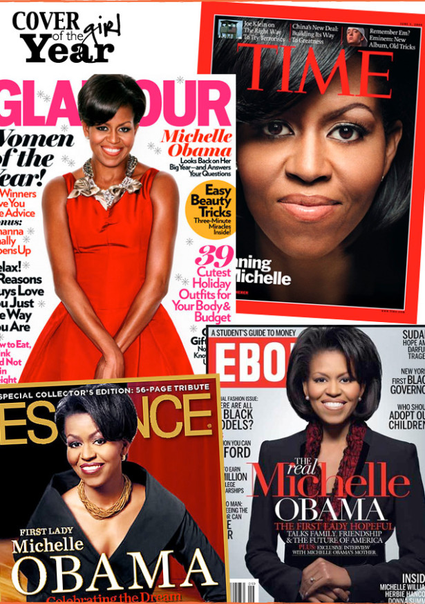 Cover Girl of the Year: Michelle Obama