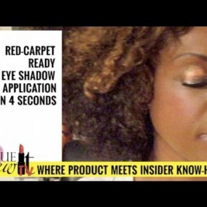 VIDEO: How To Apply Red Carpet Ready Eyeshadow in Seconds
