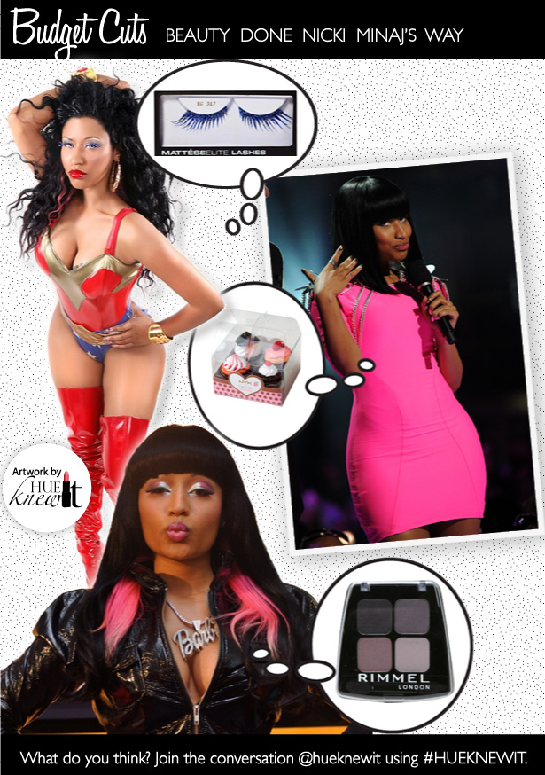Beauty on a Budget: Get Nicki Minaj's Performance Looks