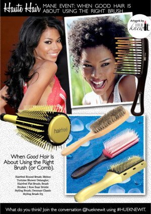 Mane Event: Choosing The Right Brush For Your Hair