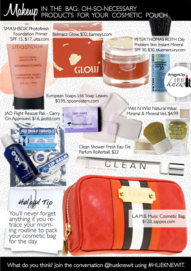 Travel Size Beauty Products For Every Cosmetic Bag