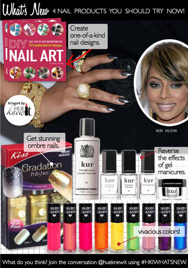 HueKnewIt - Nail Art Products - Keri Hilson