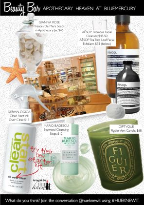 Apothecary Heaven at bluemercury Beauty Retailer