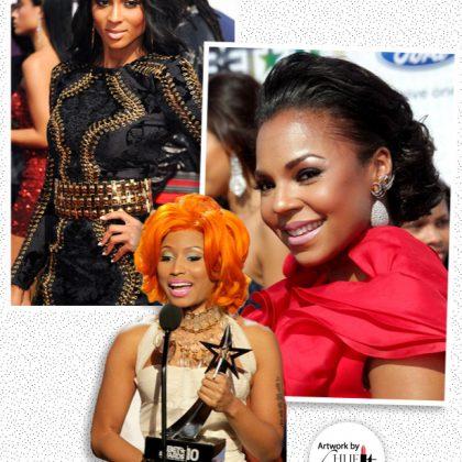 BET Awards 2010: Steal the Beauty Looks of Ciara, Ashanti & Nicki Minaj