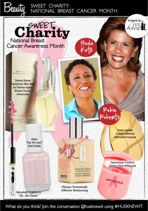 Sweet Charity: Beauty Products for Breast Cancer Awareness