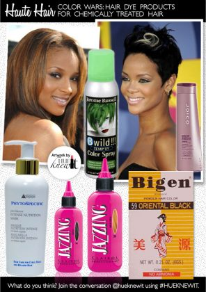 Color Relaxed Hair Safely