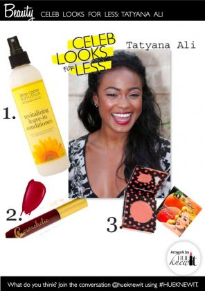 Celeb Look For Less: Steal Tatyana Ali's Easy Style