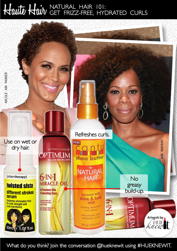 Frizz Free Products for Natural Hair