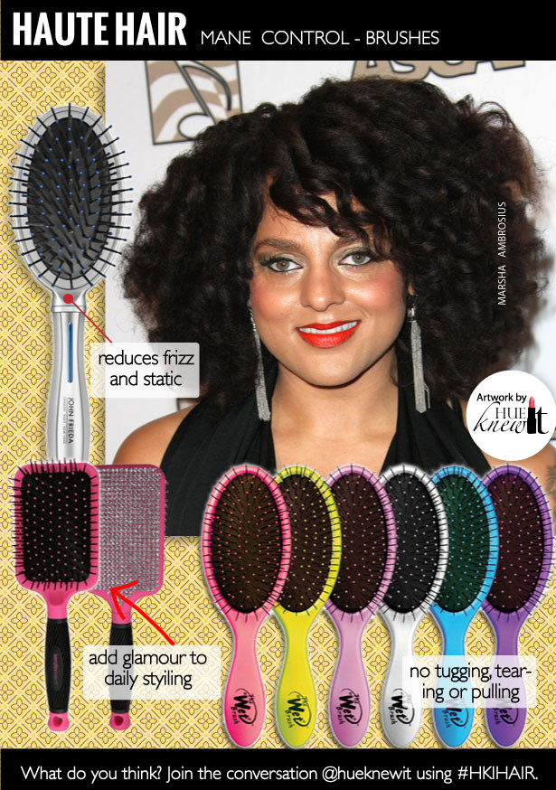 Control Your Mane with Hair Brushes for Black Hair