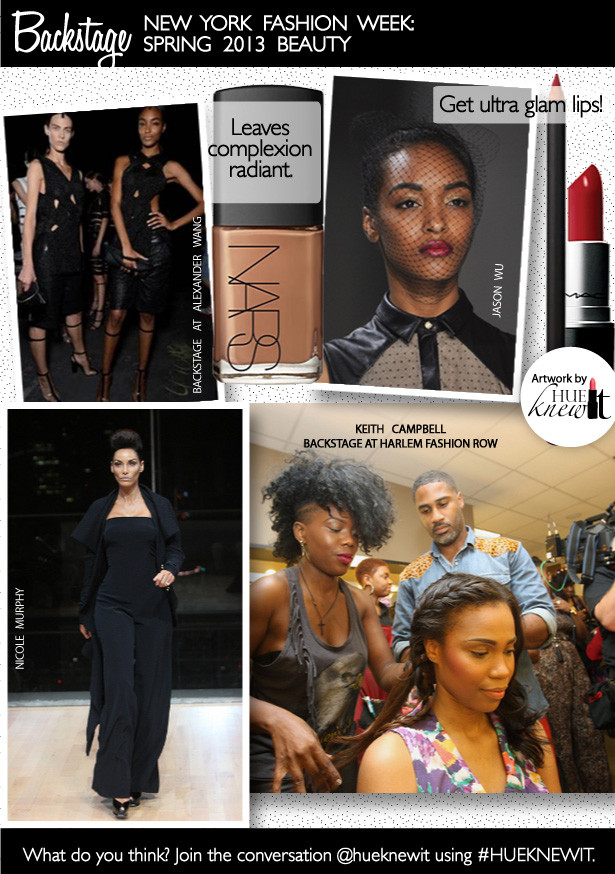 Fashion Week Beauty Trends Spring 2013