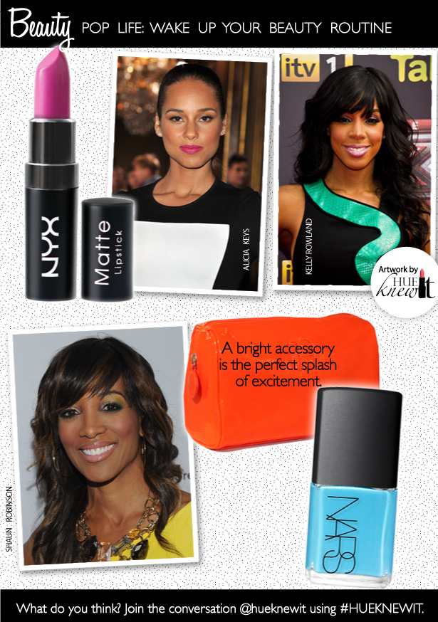 How To Brighten Your Makeup & Wardrobe with Small Splashes of Color