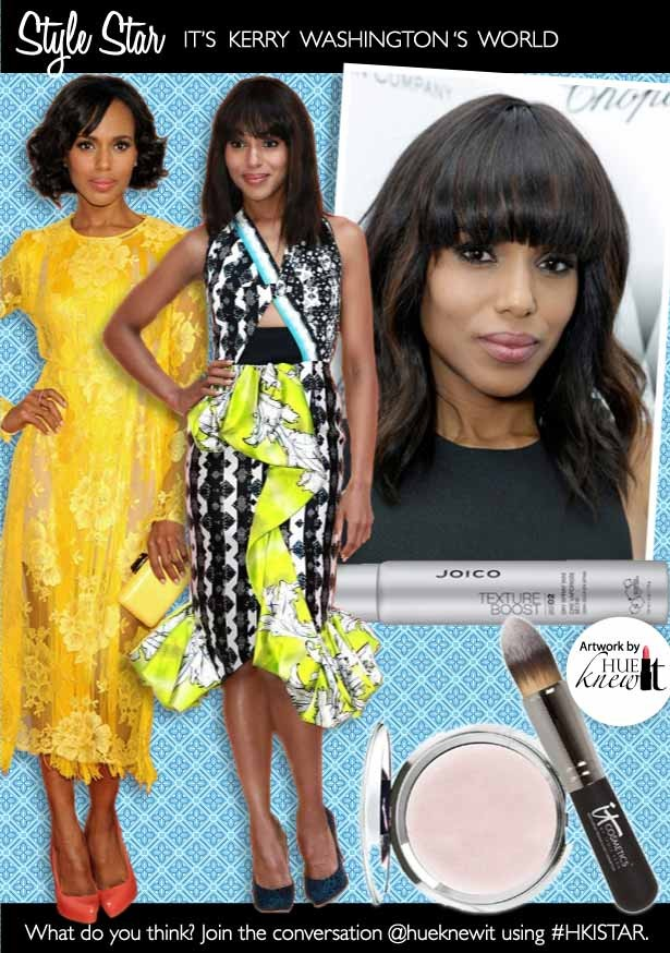 It's Kerry Washington's World