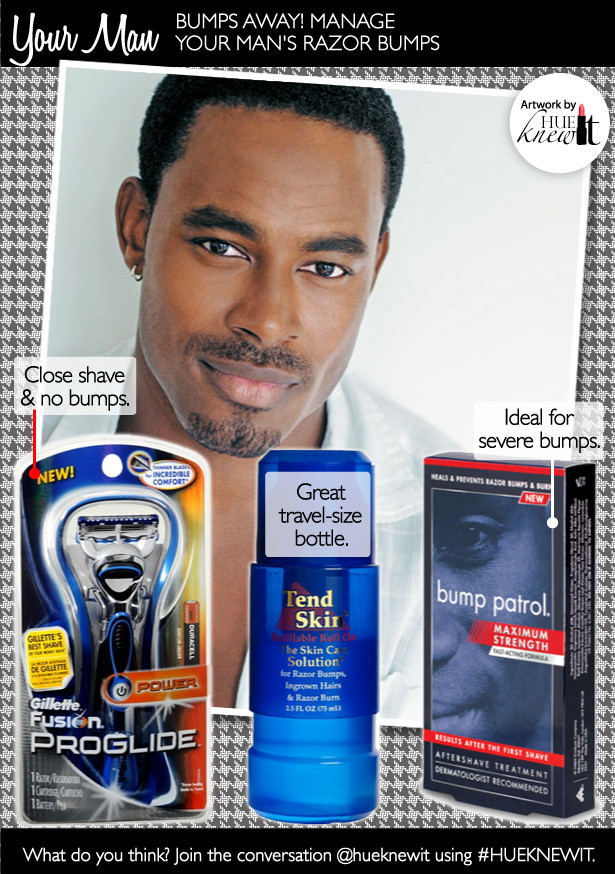 Help Your Man Learn How To Manage Razor Bumps