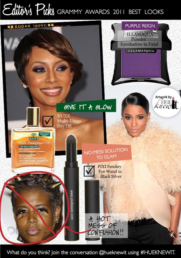 Grammy 2011 Beauty Hits