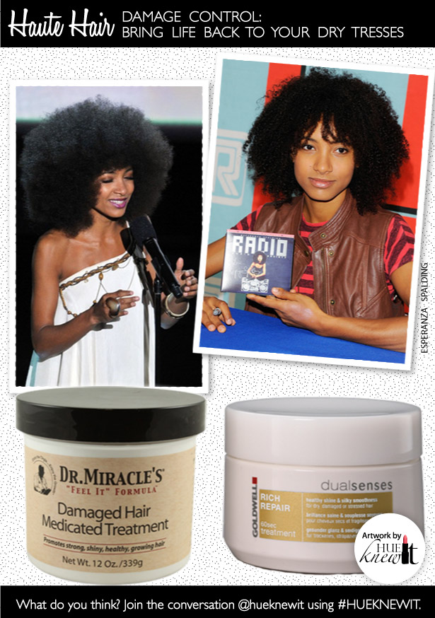 Damaged Hair Treatments Bring Life To Dry Tresses