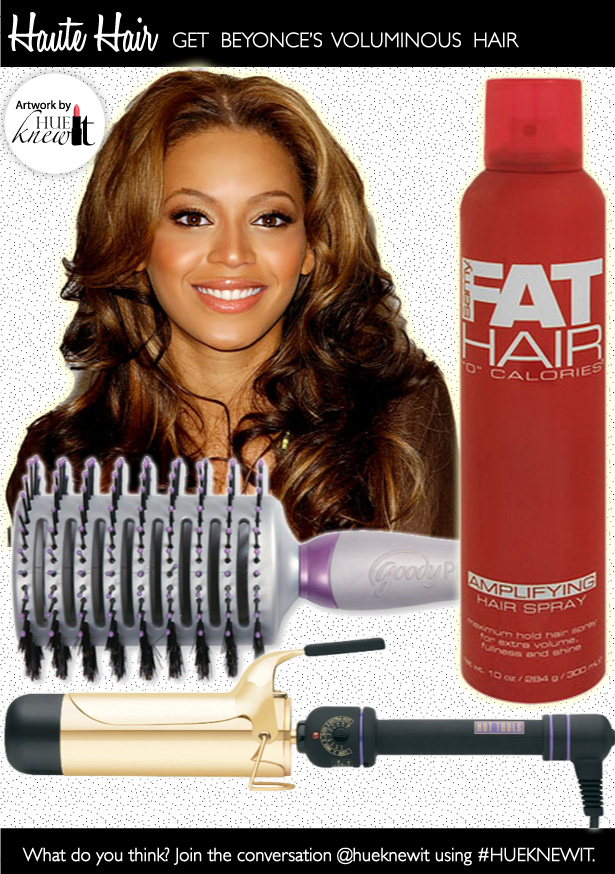 Voluminous Hair Tutorial: Get Beyonce's Look