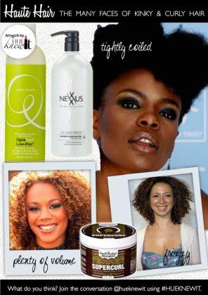 3 Natural Hair Types of Black Women