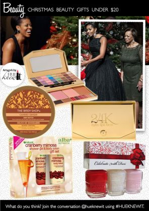 Beauty Blowout: Holiday Gifts Under $20