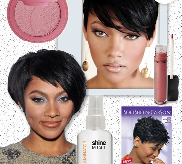 Get Bria Murphy's Hair & Makeup Look