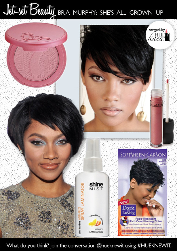 Get Bria Murphy's Hair & Makeup Look