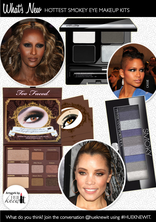 Try The 3 Hottest Smokey Eye Makeup Kits