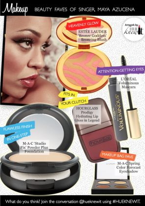 Get Glammed Up With Maya Azucena's Beauty Faves!