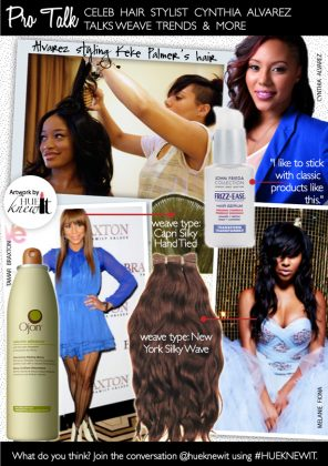 Pro Talk with Cynthia Alvarez Hair Stylist to the Stars