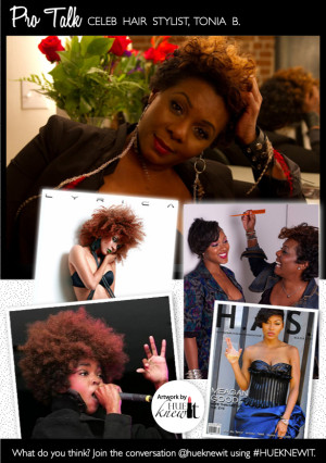 Celebrity Hair Weave Stylist Tonia B. Talks