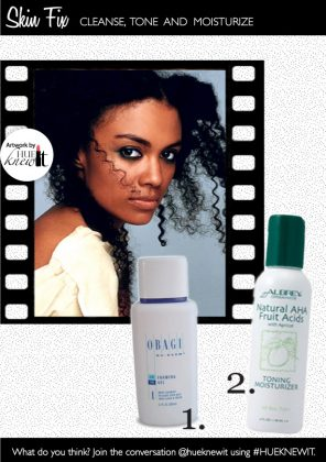 Cleanse, Tone & Moisturize Your Way To Blemish Free Skin