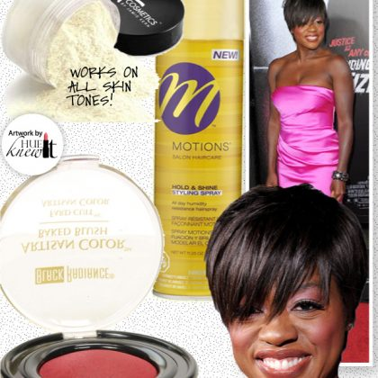 Get The Beauty Look of Viola Davis