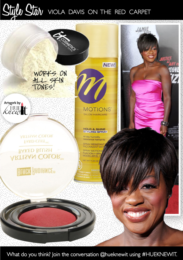 Get The Beauty Look of Viola Davis