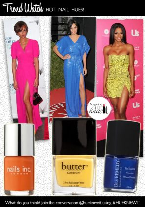 3 Hot Nail Polish Hues
