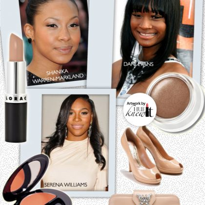 Achieve An Elegant Beauty Look With Nude Makeup & Accessories