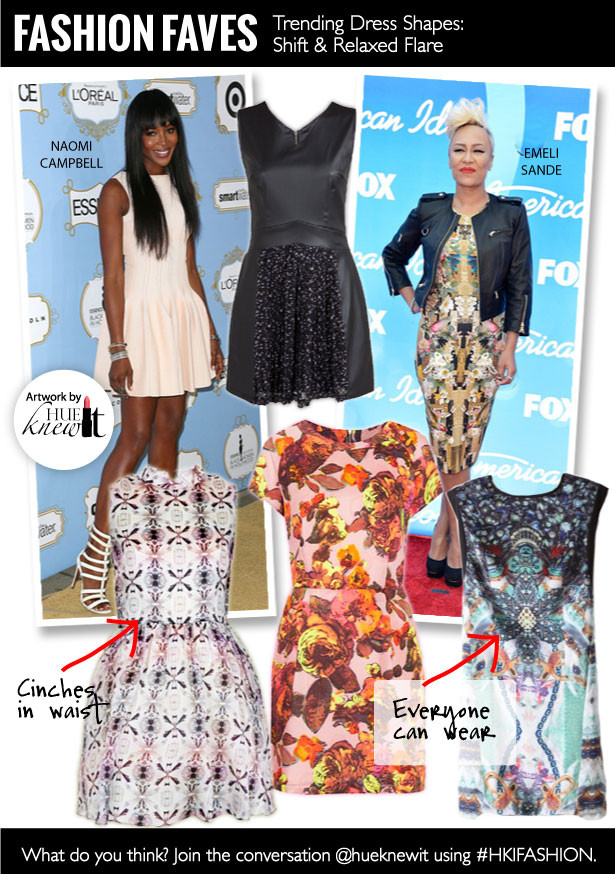 Two Great Dress Shapes for Every Body Type