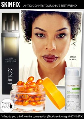 Use Facial Products with Antioxidants to Protect Your Skin