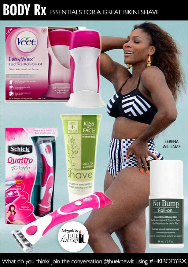 Essentials For A Great Bikini Shave