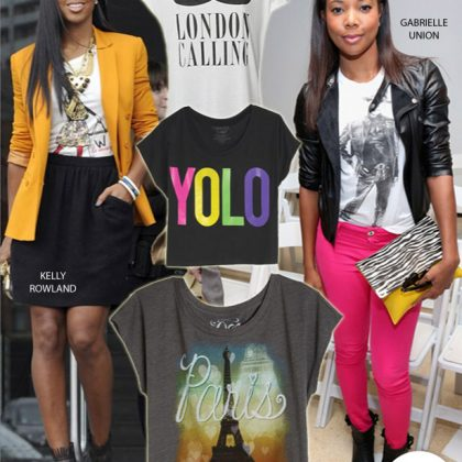 Fashion Recycles Summer Graphic Tees For Women
