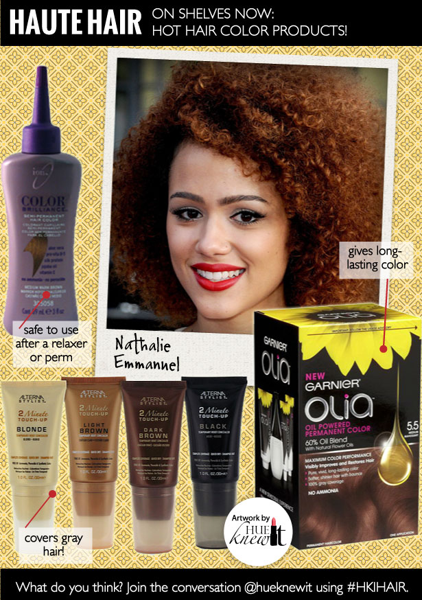 Hot Hair Color Products for African American Hair