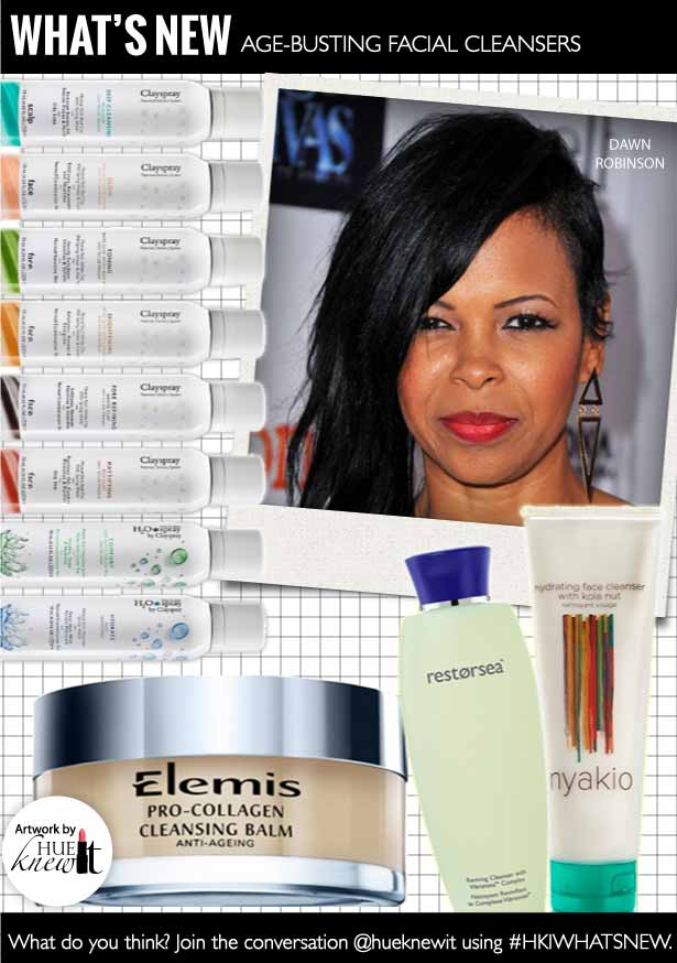 HueKnewIt - Age Busting Facial Cleansers - Brown Skin Tones - Envogue Dawn Robinson