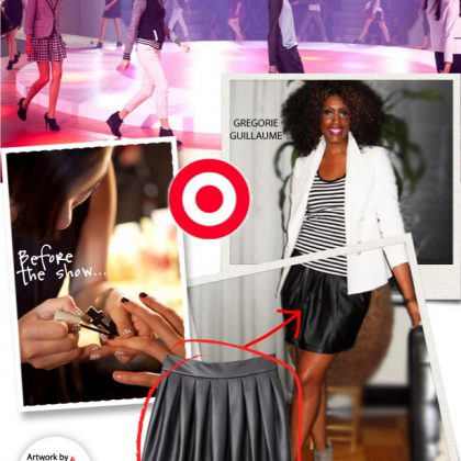 How To Rock Target's Black and White Fashion Trend