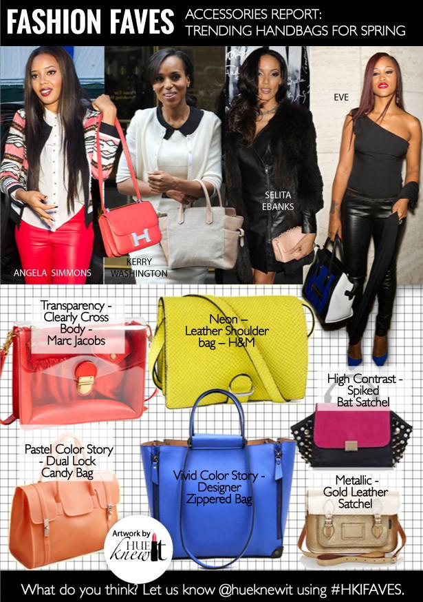 Accessories Report - Spring Handbags