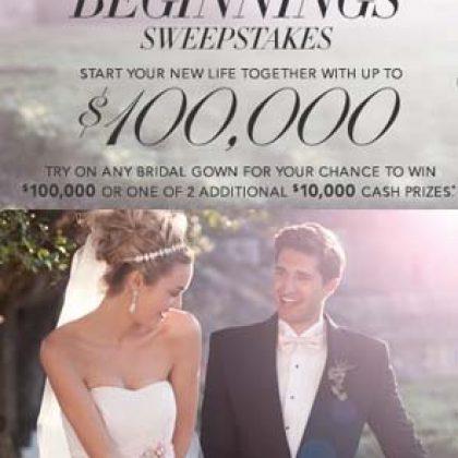 David's Bridal $100,000 Giveaway!