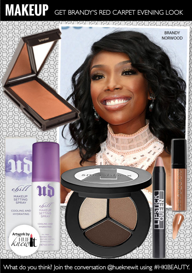 Get Brandy's Red Carpet Look