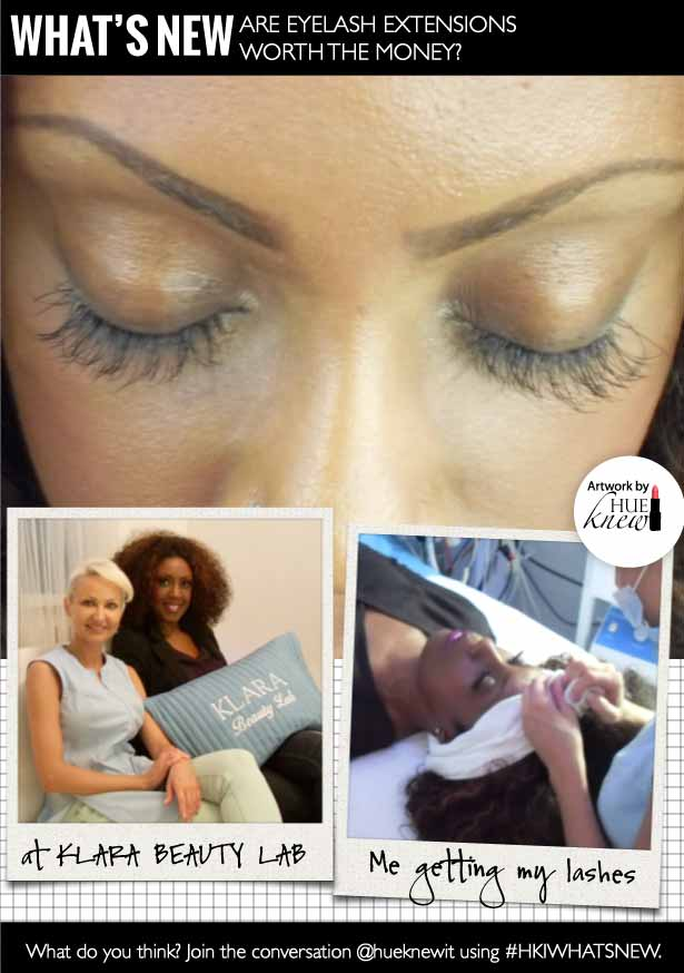 HueKnewIt What's New: Are Eyelash Extensions Worth The Money - Gregorie Guillaume