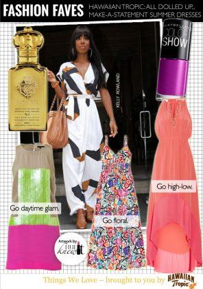 Statement-Making Summer Dresses Sponsored by Hawaiian Tropic