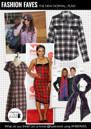 The New Normal: The Tartan Plaid Trend